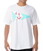 Diamond Supply Yacht Club White Tee Shirt