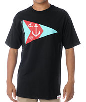 Diamond Supply Yacht Club Black Tee Shirt