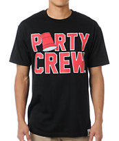 Booger Kids Party Crew Black Tee Shirt