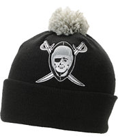 NFL Mitchell and Ness Oakland Raiders Pom Beanie