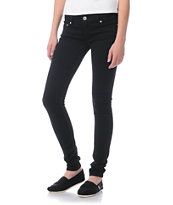 Almost Famous Willow Black Skinny Jeans
