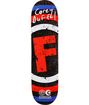 Foundation Duffel Asphalt 7.87 Skateboard Deck