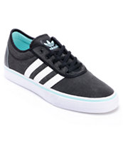 Adidas Adi Ease Black & White Canvas Shoe