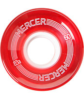 Mercer 60mm Red 83a Cruiser Wheels