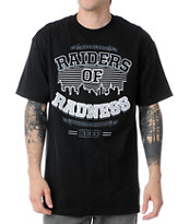 Neff Radness Black Tee Shirt
