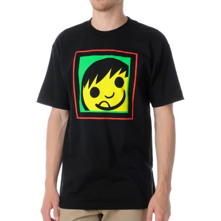 Neff Square Black Tee Shirt