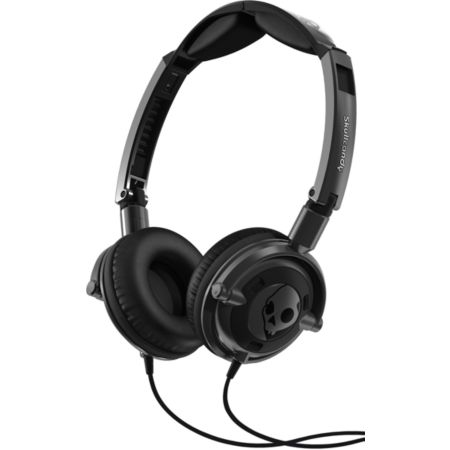 Skullcandy Gunmetal Black Lowrider Headphones