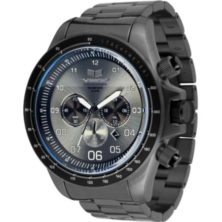 Vestal ZR-3 Brushed Gunmetal Chronograph Watch