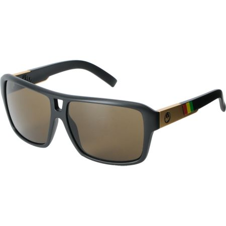 Dragon The Jam Matte Black & Rasta Sunglasses