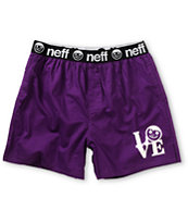 Neff Love Purple Boxers
