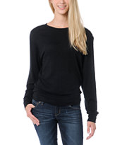 Empyre Girls Amelia Black Lace Top