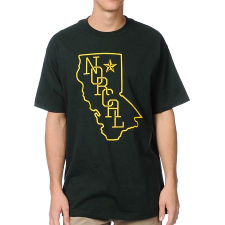 Nor Cal Rookie Green Tee Shirt