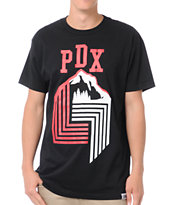 Local Legends PDX Black Tee Shirt