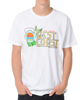 Local Legends Best Coast White Tee Shirt