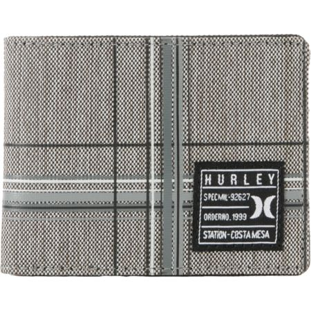 Hurley Oxford 2F Grey Wallet