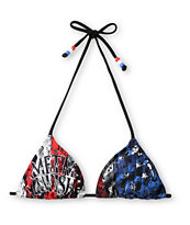 Metal Mulisha Eagle Dare Trianlge Bikini Top