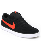 Nike Mavrk Low Black & Infrared Skate Shoe