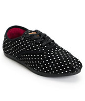 Toms Shoes Cordones Black Dot Slip On Shoe