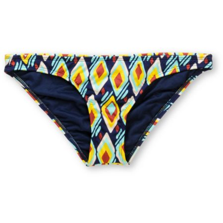Volcom Girls Vintage Find Navy & Yellow Basic Bikini Bottom