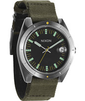 Nixon Rover II Surplus Green & Black Watch