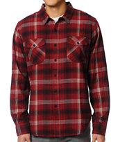 Loser Machine Holden Red Plaid Flannel Shirt
