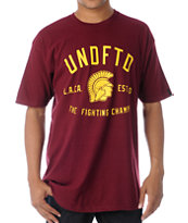 Undefeated Trojan Burgundy Tee Shirt