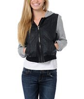 Lost Forest Black Crinkle Jacket