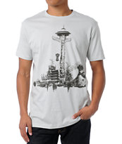Spacecraft Space Totem Silver Tee Shirt