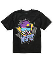 Neff Boys Retro Black Tee Shirt