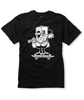 Plan B Boys Mascot Black Tee Shirt
