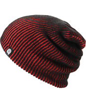 Aperture Avenue Red & Black Beanie