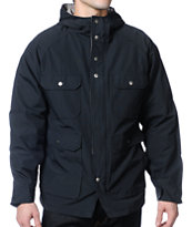 Brixton Ridge Black Hooded Jacket
