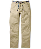 DGK Working Man 2 Khaki Straight Fit Chino Pants