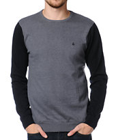 Volcom Othercircle Grey Crewneck Sweater