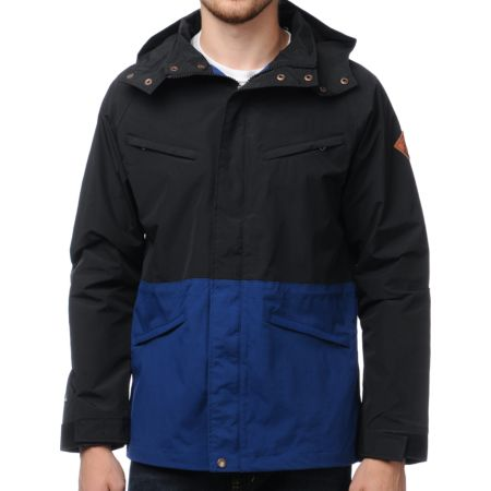 Volcom Quickdraw Black Outdoor Jacket