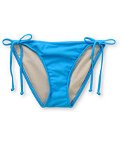Hobie Royal Blue Hipster Side Tie Bikini Bottom