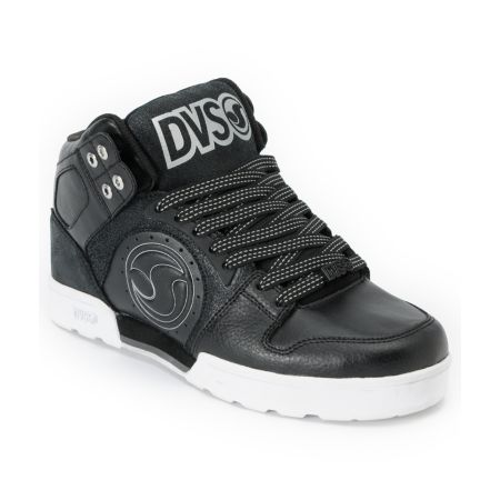 DVS Aces High Boot Black & White Shoe
