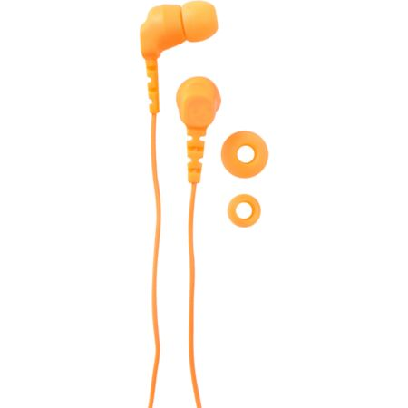 Neff Daily Buds Neon Orange Earbuds