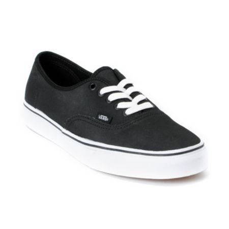 Vans Authentic Tough Poly Black Shoe