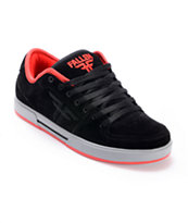 Fallen Patriot II Black, Grey, & Red Skate Shoe