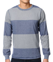Matix Bornov Navy Long Sleeve Knit Shirt
