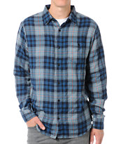 Matix Maritime Blue & Grey Flannel Shirt