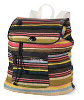 Dakine Sophia Fiji Print Canvas Tote Backpack