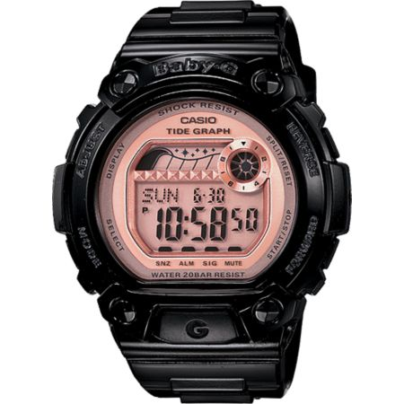 G-Shock BLX100-1E Baby-G Black & Pink Watch