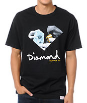 Diamond Supply Scope Black Tee Shirt