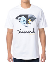 Diamond Supply Scope White Tee Shirt