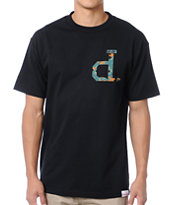 Diamond Supply Un-Polo Camo Black Tee Shirt