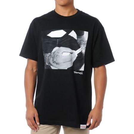 Diamond Supply Rollin Diamonds Black Tee Shirt