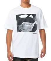 Diamond Supply Rollin Diamonds White Tee Shirt