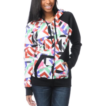 Volcom Girls Super Stylo Hydro Tech Fleece Jacket